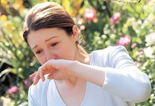 Аллергия на пыльцу.