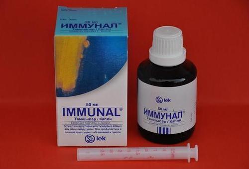Иммунал для иммунитета.